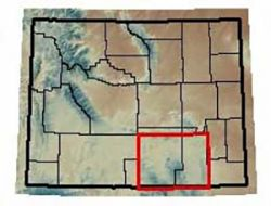 Maps of the Medicine Bow National Forest Catchments